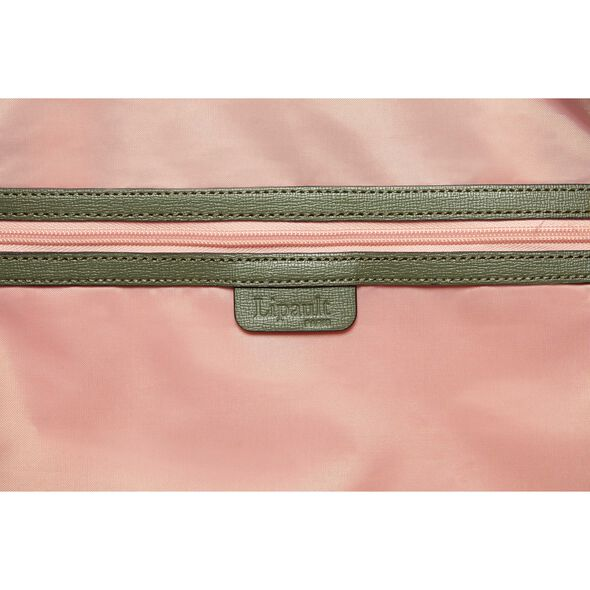 Lipault Plume Avenue Duffel Bag in the color Olive Green.