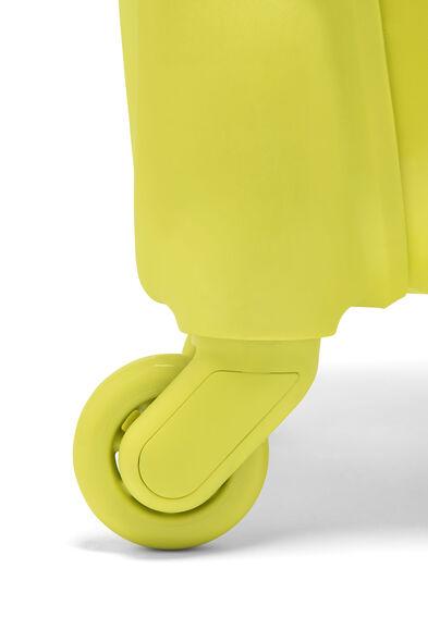 Lipault Original Plume Spinner 55/20 Carry-On in the color Flash Lemon.