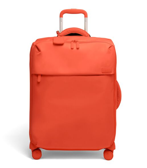 Plume Medium Trip Packing Case in the color Flash Coral.