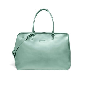 Lipault Miss Plume Weekend Bag M in the color Aqua Green.