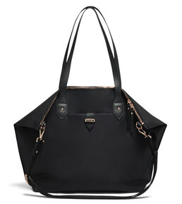 Lipault Plume Avenue Travel Tote Bag in the color Jet Black.
