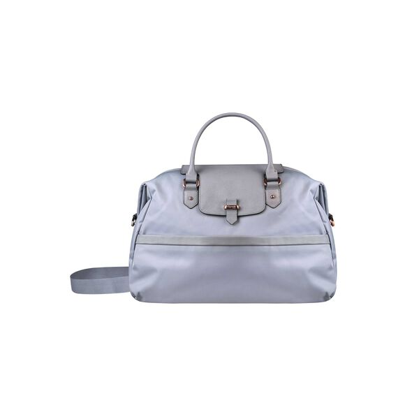 Lipault Plume Avenue Duffel Bag in the color Mineral Grey.