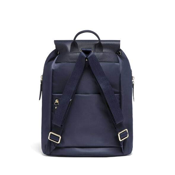 "Lipault Plume Avenue 15"" Laptop Backpack in the color Night Blue."