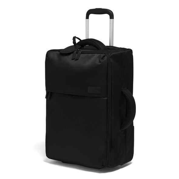Lipault 0% Pliable Upright 55/20 in the color Black.