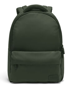 Lipault City Plume Backpack in the color Khaki Green.