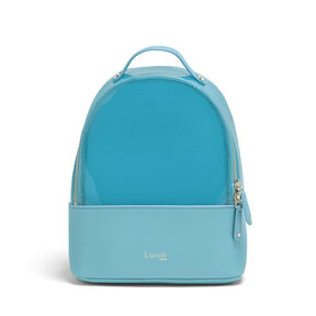 Lipault Pop N Gum Backpack XS in the color Coastal Blue.