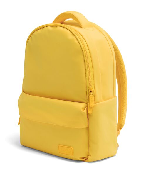 Lipault City Plume Backpack in the color Sunflower.
