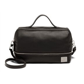 Lipault Jean Paul Gaultier Boston Bag in the color Black.