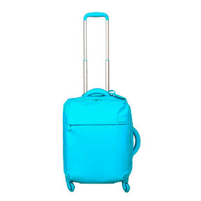Lipault Original Plume Spinner 55/20 2.0 in the color Riviera Blue.