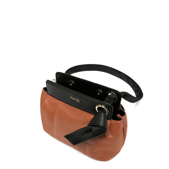 Lipault Noelie Crossbody Bag in the color Sequoia.