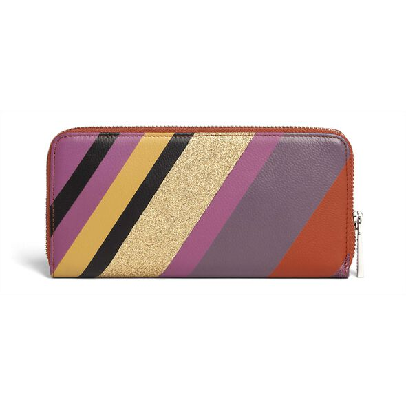 Lipault Special Edition Zip Around Wallet in the color Playfall.
