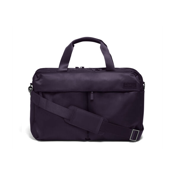 Lipault City Plume 24H Bag in the color Purple.