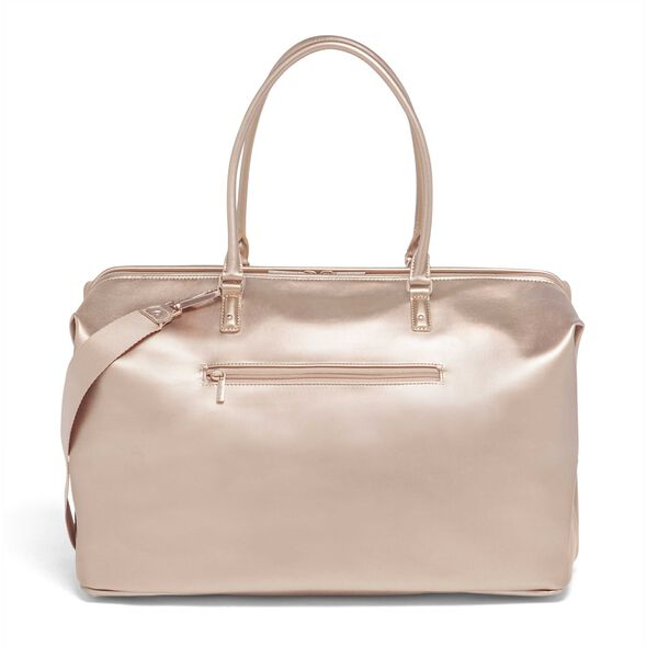 Lipault Miss Plume Weekend Bag M in the color Pink Gold.