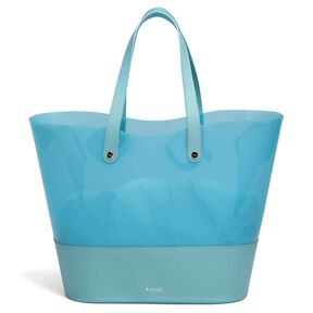 Lipault Pop 'N' Gum Beach Bag in the color Coastal Blue.