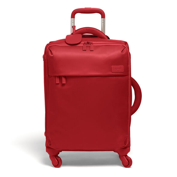 Lipault Travel Set Carry-On & Duffel in the color Cherry Red.