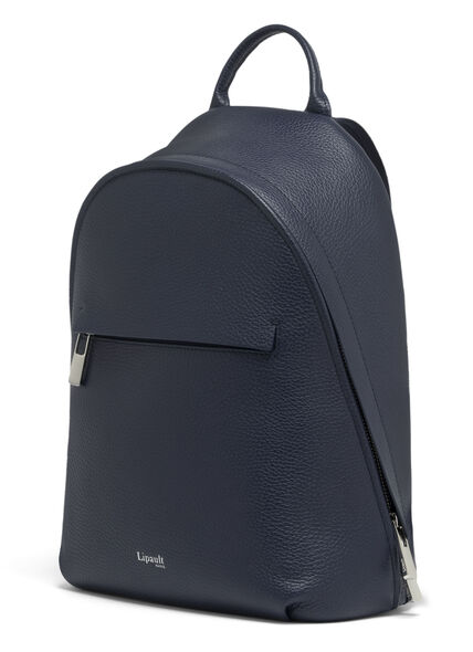Lipault Invitation Small Round Backpack in the color Navy.