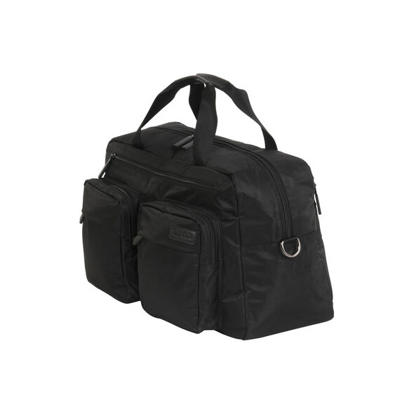 "Lipault Original Plume 19"" Weekend Bag in the color Black."