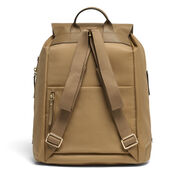 """Lipault Plume Avenue 15"""" Laptop Backpack in the color Camel."""