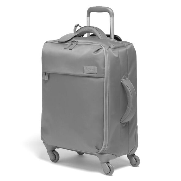 Lipault Original Plume Spinner 55/20 Carry-On in the color Pearl Grey.