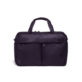 Lipault City Plume 24 Hour Bag in the color Purple.