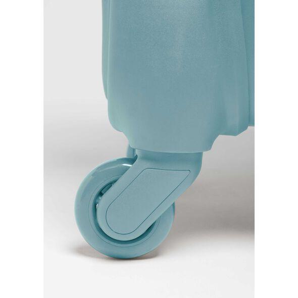 Lipault Original Plume Spinner 55/20 in the color Coastal Blue.
