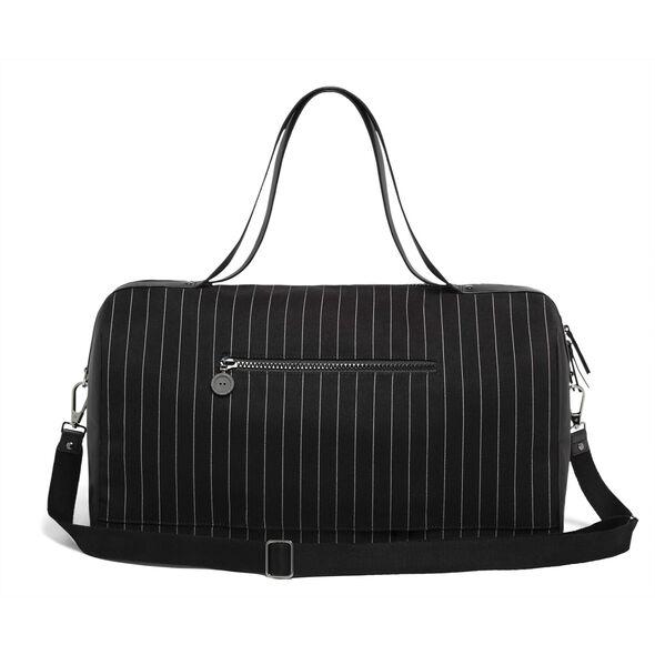 Lipault Jean Paul Gaultier Ampli Duffle Bag in the color Black.
