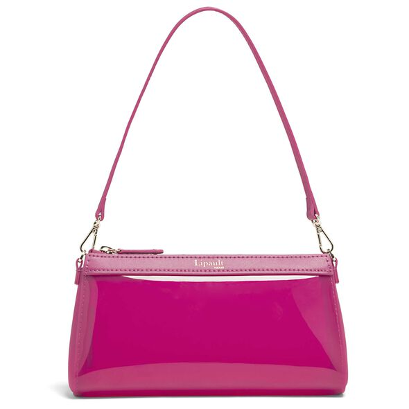 Lipault Pop N Gum Small Clutch Bag in the color Deep Fuchsia.