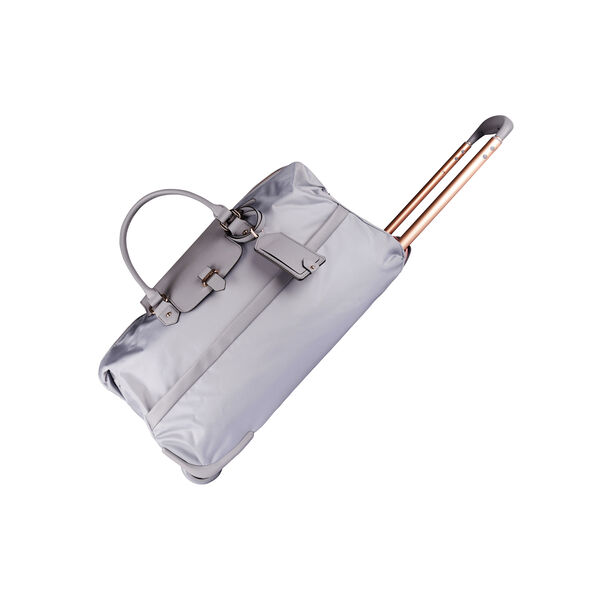 Lipault Plume Avenue Wheeled Duffle Bag in the color Mineral Grey.