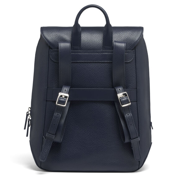 Lipault Invitation Medium Laptop Backpack in the color Navy.