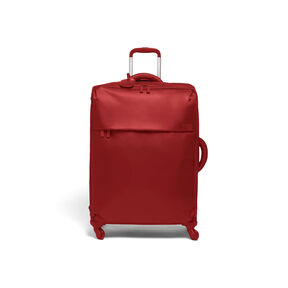 Lipault Original Plume Spinner 72/26 in the color Cherry Red.