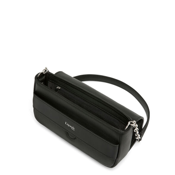 Lipault Invitation Evening Clutch in the color Black.