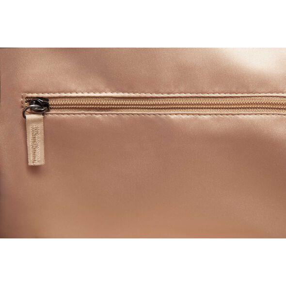 Lipault Jean Paul Gaultier Ampli Duffle Bag in the color Burgundy.