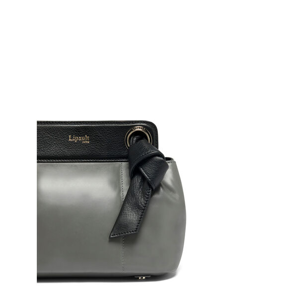 Lipault Noelie Crossbody Bag in the color Grey.
