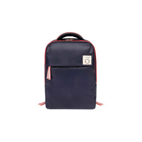 "Lipault Ines De La Fressange Laptop Backpack M 15"" in the color Blue."
