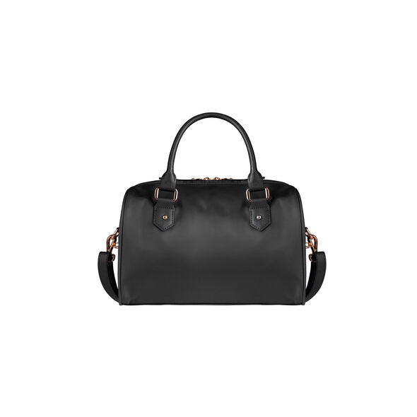 Lipault Plume Avenue Bowling Bag S in the color Jet Black.