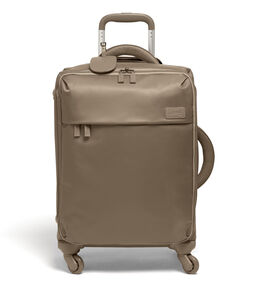 Lipault Original Plume Spinner 55/20 Carry-On in the color Dark Taupe.