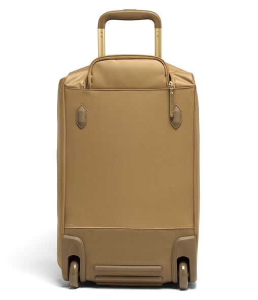 Lipault Plume Avenue Wheeled Duffle Bag in the color Camel.