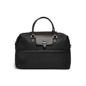 Lipault Plume Avenue Duffel Bag in the color Jet Black.