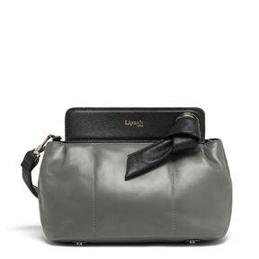 Lipault Noelie Crossbody Bag in the color Grey.