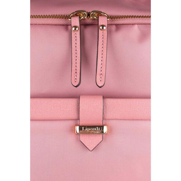 Lipault Plume Avenue Spinner 55/20 in the color Azalea Pink.