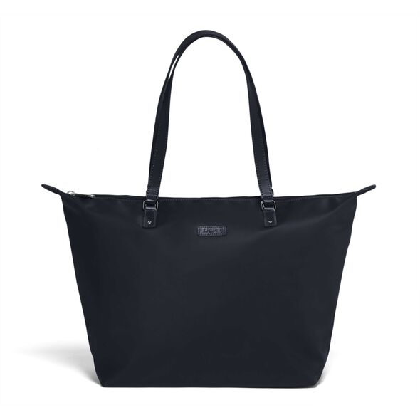 Lipault Lady Plume FL Tote Bag M in the color Navy.