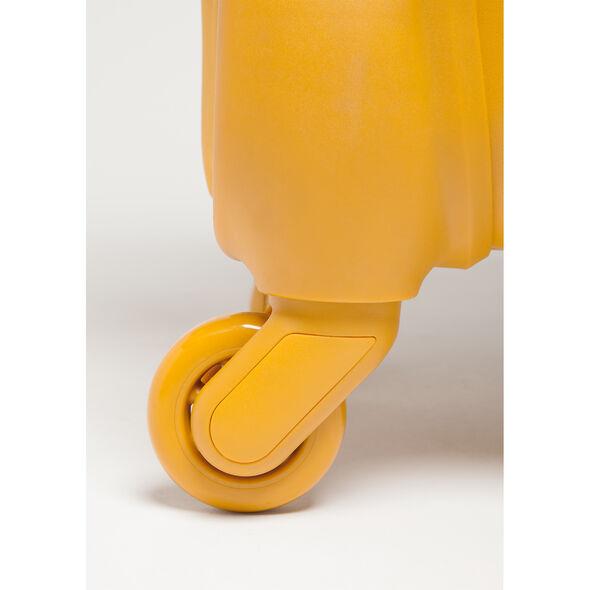 Lipault Original Plume Spinner 72/26 in the color Mustard.