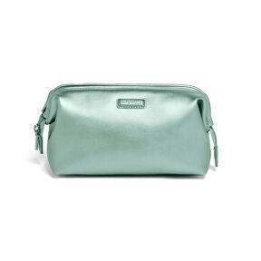 Lipault Miss Plume Toiletry Kit in the color Aqua Green.