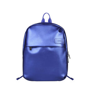 Lipault Miss Plume Backpack XS in the color Exotic Blue.