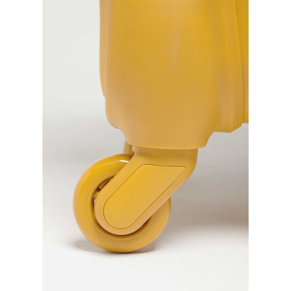 Lipault Original Plume Spinner 65/24 in the color Mustard.