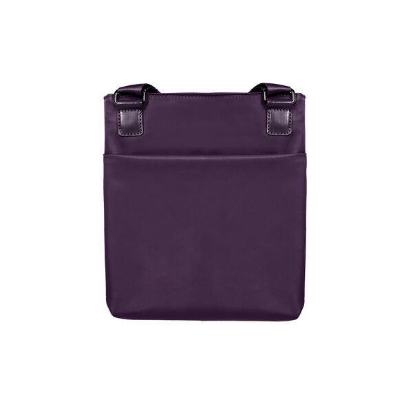 Lipault City Plume Crossover Bag M in the color Purple.