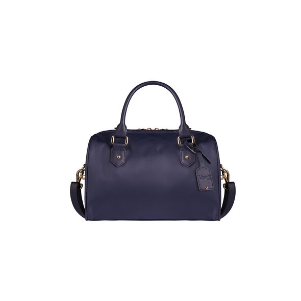 Lipault Plume Avenue Bowling Bag S in the color Night Blue.