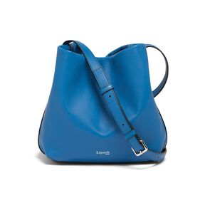 Lipault By The Seine Bucket Bag in the color Cobalt Blue.