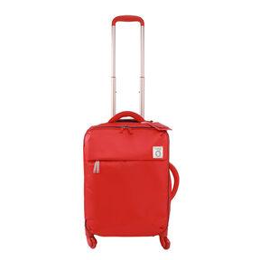 Lipault Ines De La Fressange Spinner 55/20 in the color Red.