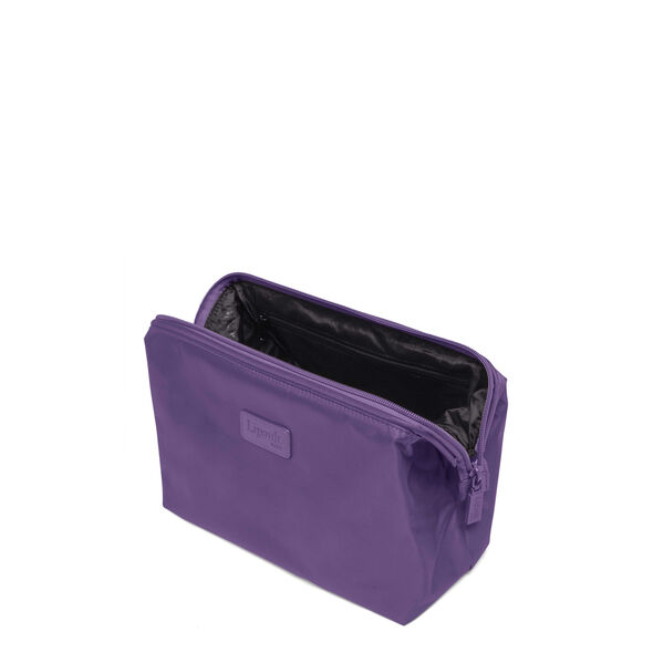 "Lipault Plume Accessories 12"" Toiletry Kit in the color Light Plum."